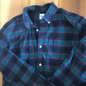 Gap Lived-In Oxford Shirt